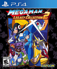 Megaman Legacy Collection 2 (PS4)