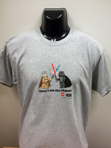 """Lego Star Wars T-Shirt """"Now I am the master"""""""