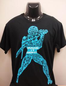 """Metal Gear Rising T-Shirt """"Chaos"""""""