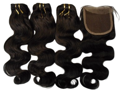 Brazilian Human Hair 4*4 closure + 3pcs bundles Body Wave Weave - Select Set