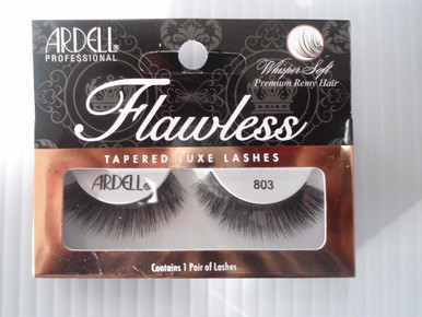 Ardell Strip Lashes Flawless #803 Black (Pack of 4) 3 Easy Steps