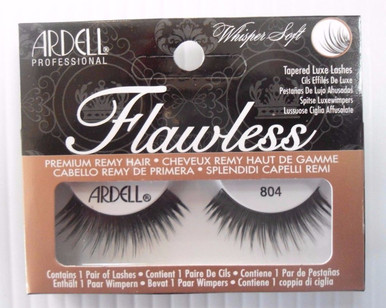 Ardell Strip Lashes Flawless #804 Black (Pack of 3) 3 Easy Steps