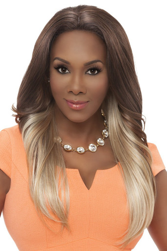 Vivica A Fox Long Synthetic Hair Lace Front Wig Straight Style Tracy - Heat OK