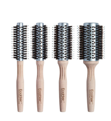 Olivia Garden EcoHair Bamboo Combo Vent Ionic & Boar Bristles 4-pc Brushes Deal