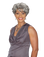 Foxy Silver Synthetic Full Wig - Charlotte - Grey Colors Available