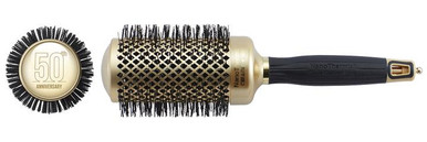 "Olivia Garden Round Nano Thermic Ceramic Ion Brush NT-54G 2 1/8"" 50th Anniversary Special Edition"