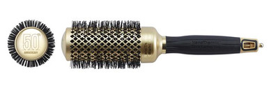 "Olivia Garden Round Nano Thermic Ceramic Ion Brush NT-44G 1 3/4"" 50th Anniversary Special Edition"