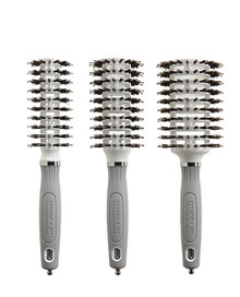 Olivia Garden Ceramic + Ion Turbo Vent Combo 3pc deal: CITV-COPT, CITV-COMD, CITV-COGD Brushes