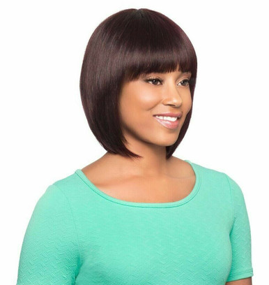 Foxy Lady Short 100% Human Hair Full Wig Mena - Show your Gorgeous Beauty