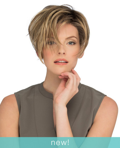 Estetica Lace Front Short Pixie Style Wig w/ Layers Perry