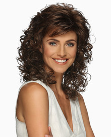 Estetica Pure Stretch Cap Long Full Wig Jessica - layers & Spiral Curls