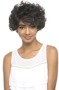 Remi Short Layered Barrel Curl Pure Stretch Cap Wig Ignes