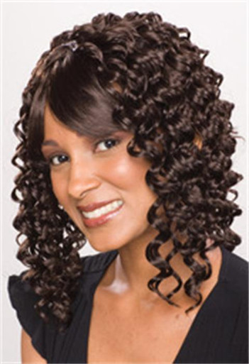 "14"" Premium Synthetic Hair Natural Deep Wave Weave"