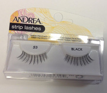 Andrea Fashion Strip Lashes Eyelash Style 53 Black
