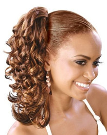 Synthetic Hair Drawstring Ponytail - NINA