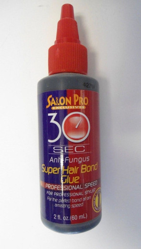 SALON PRO 30 Sec Super Hair Bond Glue, 1 oz