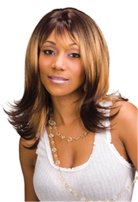 Synthetic Hair Full Wig - Heather