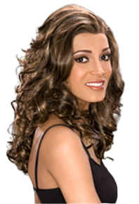 Carefree Synthetic Lace Front Wig - Deidra - Wavy