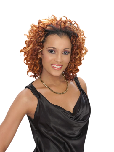 Synthetic Half Wig - Farrah Show your Beauty with Less Effort