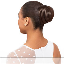 Foxy Lady Synthetic Hair Bun French Dome M Hairpiece