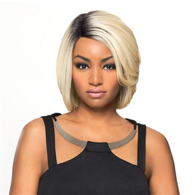 Heat Fusion Lace Front Wig - Carolyn - High Temperature Fibers Heat Ok