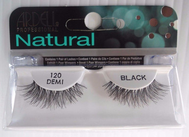 Ardell Strip Lashes False Eyelashes Demi 120 Black (Pack of 4)