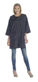 Diane by Fromm Cover Up Snap Closure Lightweight Nylon Black Fits Most #dta008