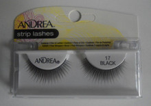 Andrea Fashion Strip Lash Eyelash Style 17 Black (Pack of 6)