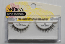 Andrea Fashion Strip Lash Eyelash Style 16 Black/Brown (Pack of 4)