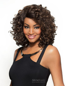 Heat Fusion Lace Front Wig - Marcella - High Temperature Fibers - Heat Ok