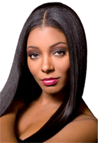 "Elements 12"" 100% Human Hair Weave Straight Yaki Show the Diva in You"