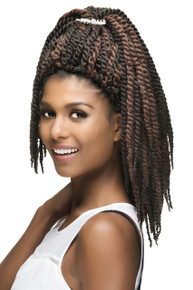 "Senegal Jumbo Twist Crochet Braids 12"" (3 pieces)"