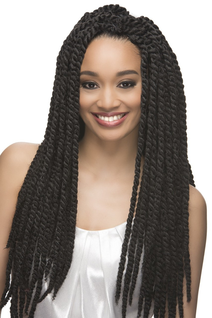 Senegal Jumbo Twist Crochet Braids 18 3 Pieces
