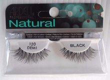 Ardell Strip Lashes False Eyelashes Demi 120 Black (Pack of 6)