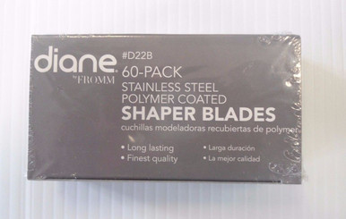 Diane by Fromm Hair Shaper/Shaver Blades 60-pieces #D22B