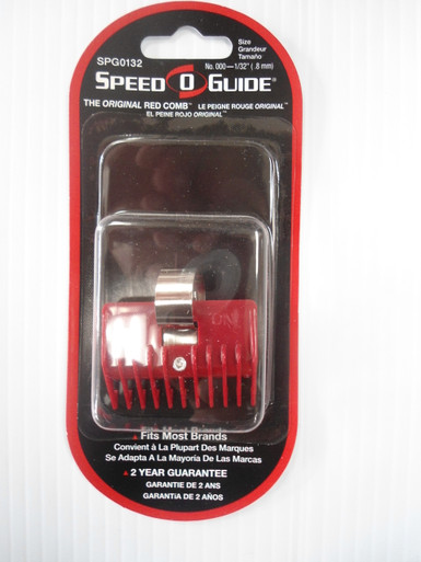 Speed O Guide Universal Trimmer/Clipper Guards - Size 1/32""