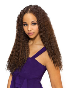 "20"" Human Hair Blend Super French Wet and Wavy Wefts"