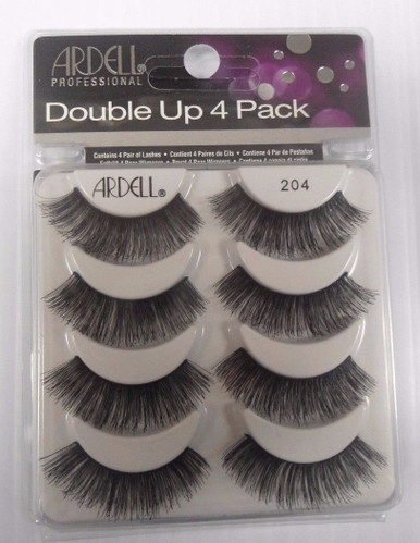 Ardell Double Up 4 Pack Strip Lashes Style #204 Full Volume