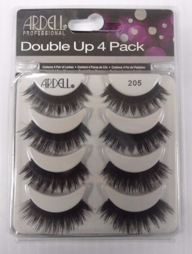 Ardell Double Up 4 Pack Strip Lashes Style #205 Full Volume