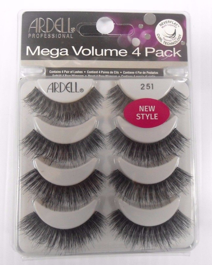 806d923a3bf Ardell Mega Volume Double UP 4 Pack Strip Lashes Style #251