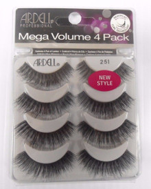 Ardell Mega Volume Double UP 4 Pack Strip Lashes Style #251