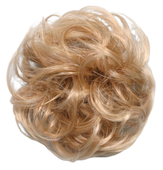 """Synthetic Curly-hair Ponytail Holder Scrunchies 3"""" Diameter"""