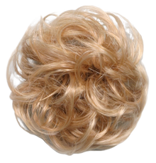 "Synthetic Curly-hair Ponytail Holder Scrunchies 3"" Diameter"