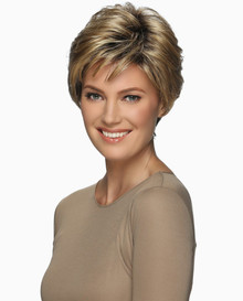 Estetica Pure Stretch Cap Short Full Wig Billie - Brown, Blonde, and Gray Colors