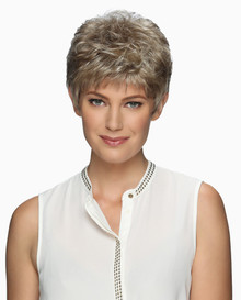 Estetica Pure Stretch Cap Short Full Wig Jamie - Black, Brown, Blonde, & Gray