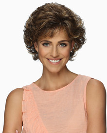 Estetica Pure Stretch Cap Short Full Wig Nadia - Brown, Blonde, & Gray