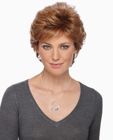 Estetica Pure Stretch Cap Short Full Wig Rebecca- Brown & Blonde colors