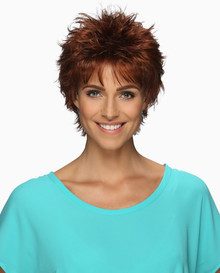 Estetica Pure Stretch Cap Short Full Wig Rosa - Brown, Red, & Blonde colors