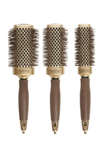 Olivia Garden Nanothermic Thermal Square 3pc Brushes NT-S50 NT-S40 NT-S30 Deal