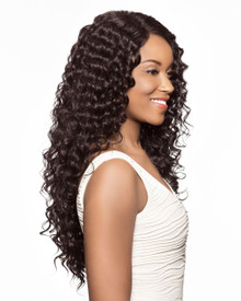 "Ocean Wave 20"" Crochet Braid Kanekalon Hair Extensions 3X (3 bundles in pack)"